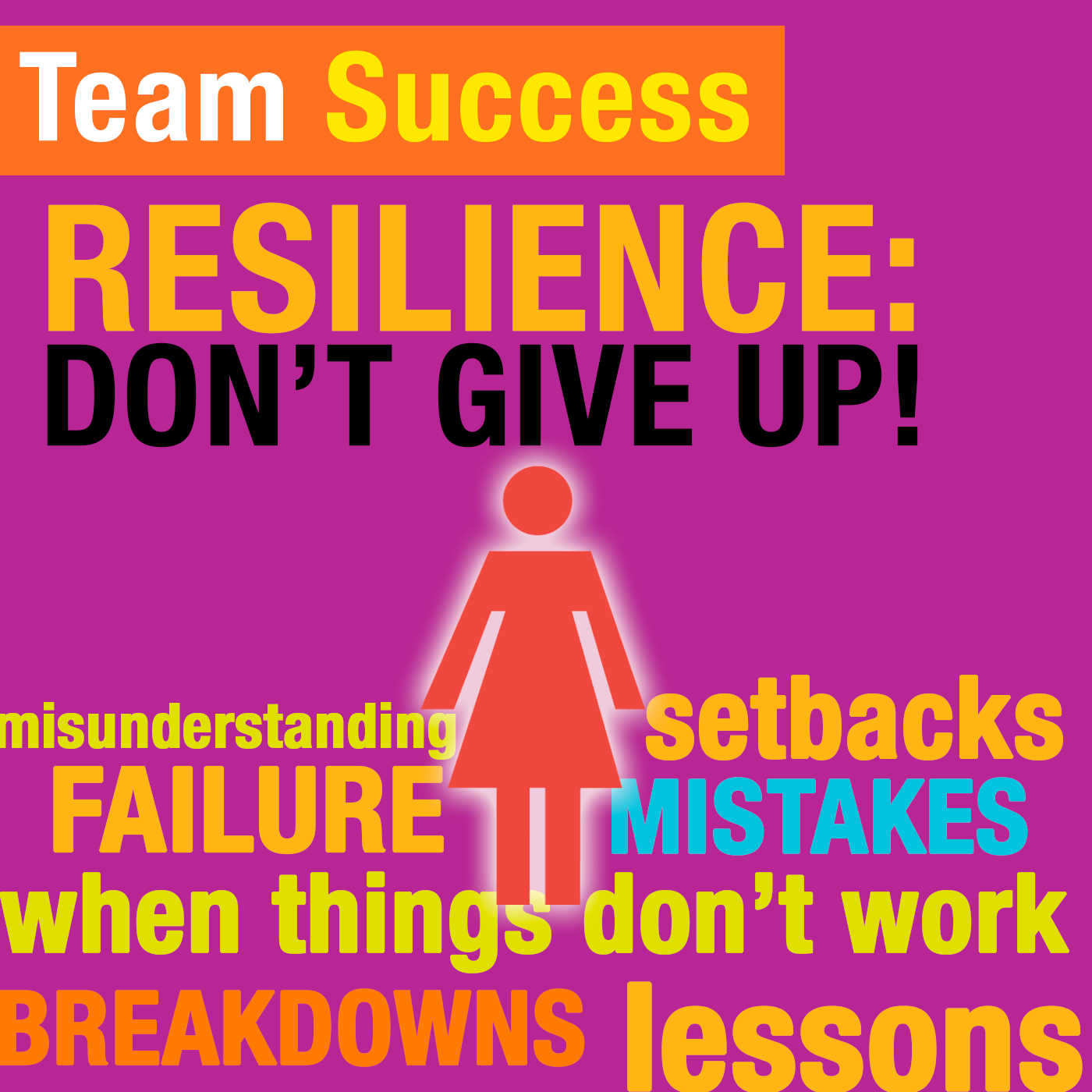 Resilience: Don't Give Up! - Team Success Podcast
