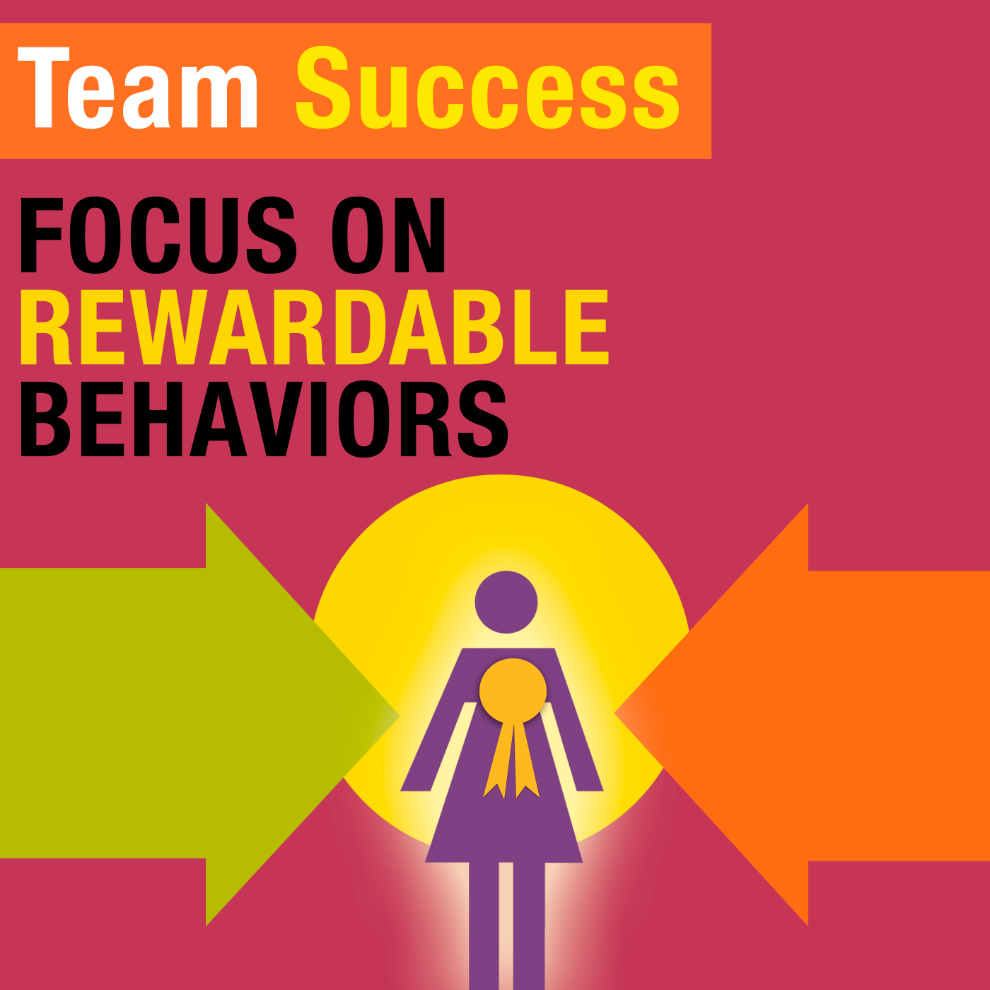 Focus On Rewardable Behaviors