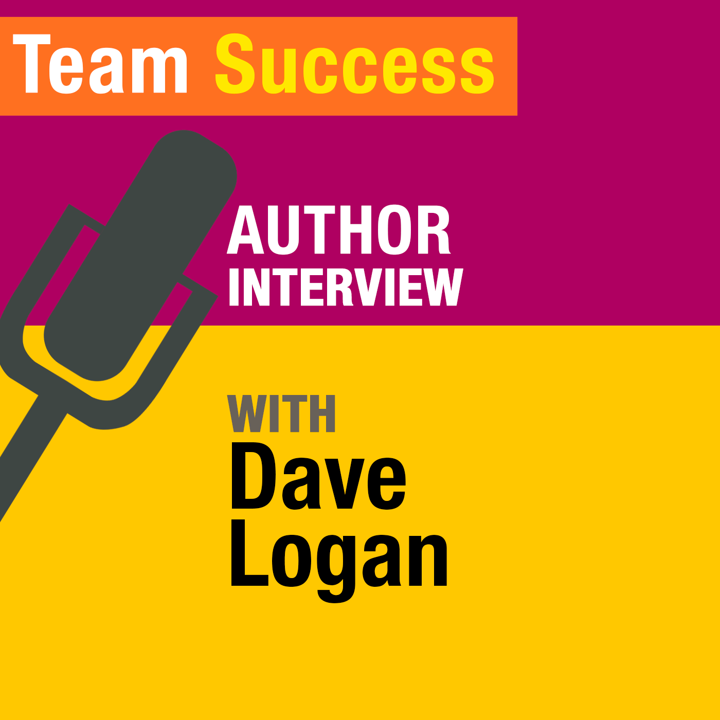 An Interview With Dave Logan - Team Success Podcast