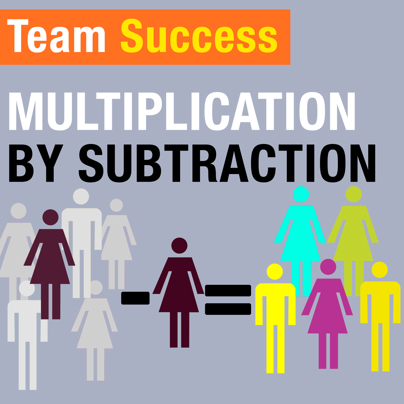 Multiplication By Subtraction - Team Success Podcast