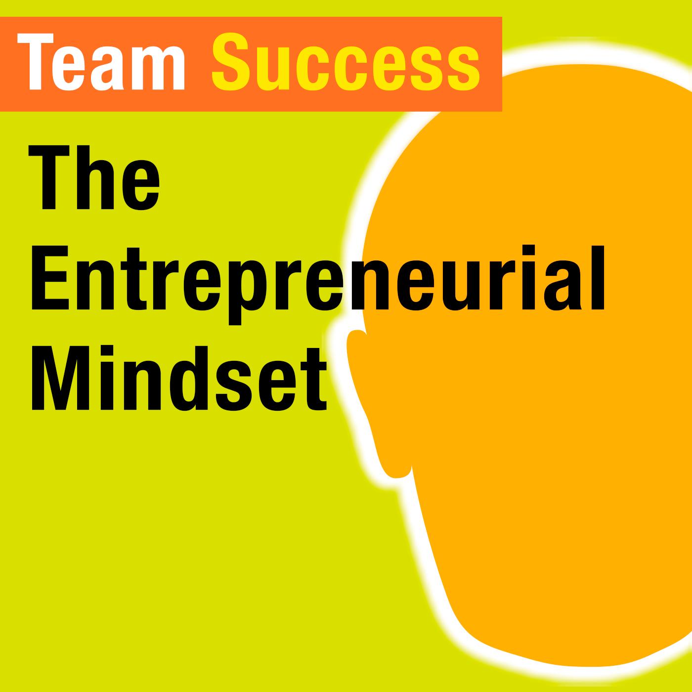 The Entrepreneurial Mindset - Team Success Podcast
