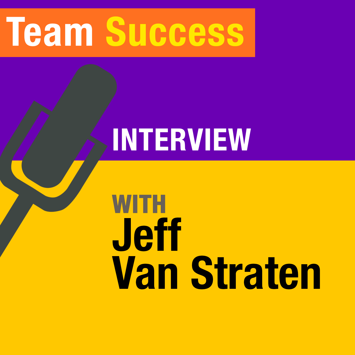 Interview with Jeff Van Straten