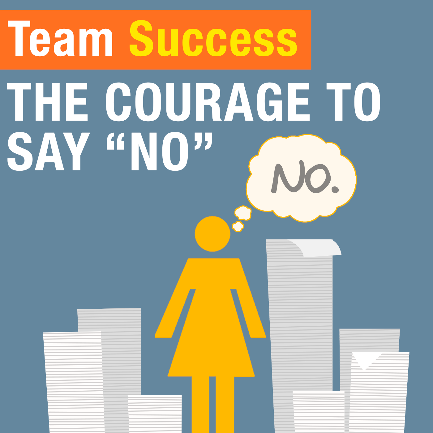 Courage To Say No - Team Success Podcast