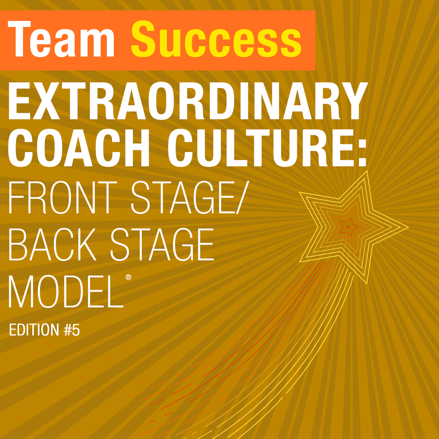 Extraordinary Coach Culture: Front Stage/Back Stage Model
