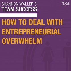Team Success Podcast - How To Deal With Entrepreneurial Overwhelm