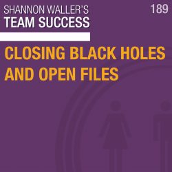 Closing Black Holes And Open Files